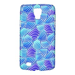 Blue And Purple Glowing Galaxy S4 Active