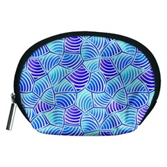 Blue And Purple Glowing Accessory Pouches (medium)