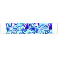 Blue And Purple Glowing Flano Scarf (large)
