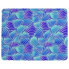 Blue And Purple Glowing Jigsaw Puzzle Photo Stand (rectangular)