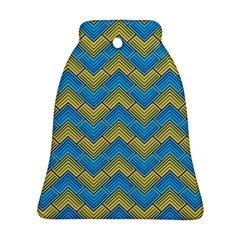 Blue And Yellow Ornament (bell)