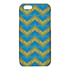 Blue And Yellow iPhone 6/6S TPU Case