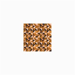 Brown Tiles Collage Prints