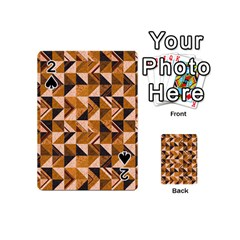 Brown Tiles Playing Cards 54 (mini)