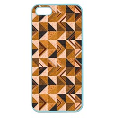 Brown Tiles Apple Seamless iPhone 5 Case (Color)