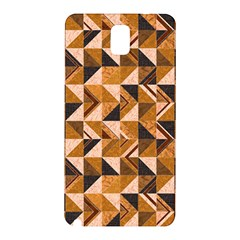 Brown Tiles Samsung Galaxy Note 3 N9005 Hardshell Back Case