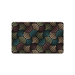Glowing Abstract Magnet (Name Card)