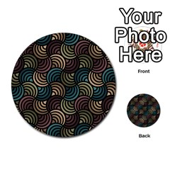 Glowing Abstract Multi-purpose Cards (Round)