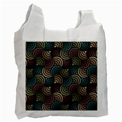 Glowing Abstract Recycle Bag (Two Side)