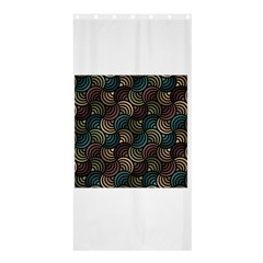 Glowing Abstract Shower Curtain 36  x 72  (Stall)