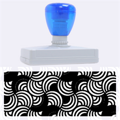 Glowing Abstract Rubber Address Stamps (XL)