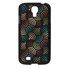 Glowing Abstract Samsung Galaxy S4 I9500/ I9505 Case (Black)