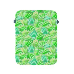 Green Glowing Apple iPad 2/3/4 Protective Soft Cases