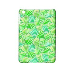 Green Glowing iPad Mini 2 Hardshell Cases