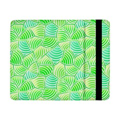 Green Glowing Samsung Galaxy Tab Pro 8 4  Flip Case