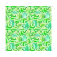 Green Glowing Double Sided Flano Blanket (Small)