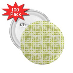 Pastel Green 2.25  Buttons (100 pack)