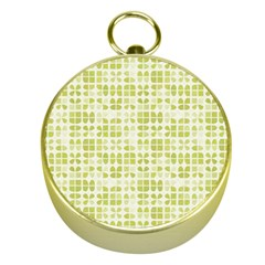 Pastel Green Gold Compasses