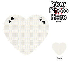 Pastel Pattern Playing Cards 54 (Heart)