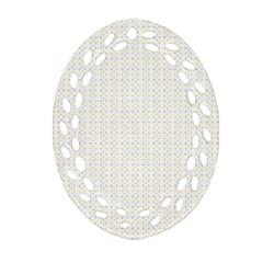 Pastel Pattern Ornament (oval Filigree)
