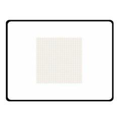 Pastel Pattern Double Sided Fleece Blanket (small)