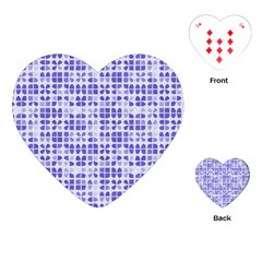 Pastel Purple Playing Cards (Heart)