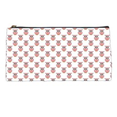 Small Pink Owls Pencil Cases