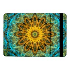 Blue yellow Ocean Star flower mandala Samsung Galaxy Tab Pro 10.1  Flip Case