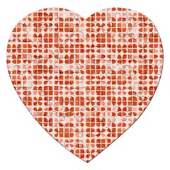 Pastel Red Jigsaw Puzzle (Heart)