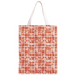 Pastel Red Classic Light Tote Bag