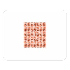 Pastel Red Double Sided Flano Blanket (Large)