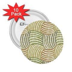Pastel Sketch 2.25  Buttons (10 pack)