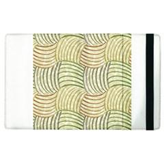 Pastel Sketch Apple iPad 2 Flip Case