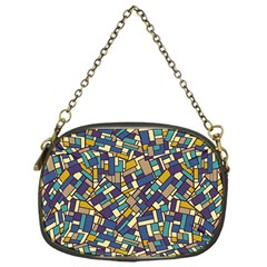 Pastel Tiles Chain Purses (One Side)