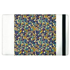 Pastel Tiles Apple iPad 2 Flip Case