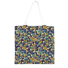 Pastel Tiles Grocery Light Tote Bag