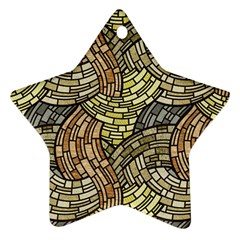 Whimsical Star Ornament (Two Sides)