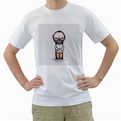 Dr. Lecter Men s T-Shirt (White) (Two Sided)