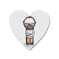 Dr. Lecter Heart Magnet