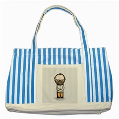 Dr  Lecter Striped Blue Tote Bag