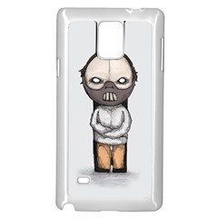Dr. Lecter Samsung Galaxy Note 4 Case (White)