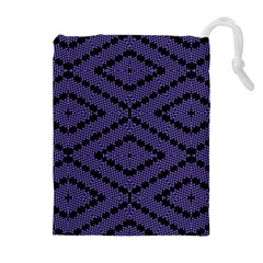 Reboot Computer Glitch Drawstring Pouches (extra Large)