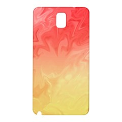 Ombre Orange Yellow Samsung Galaxy Note 3 N9005 Hardshell Back Case