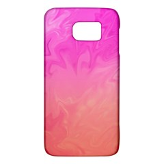 Ombre Pink Orange Galaxy S6