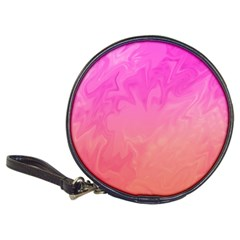 Ombre Pink Orange Classic 20-CD Wallets
