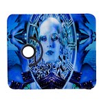 Clockwork Blue Samsung Galaxy S  III Flip 360 Case Front