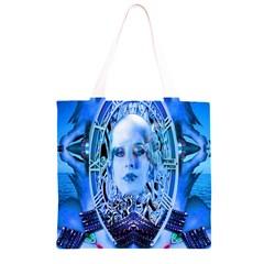 Clockwork Blue Grocery Light Tote Bag