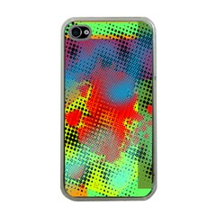 Tiling Lines 5 Apple iPhone 4 Case (Clear)