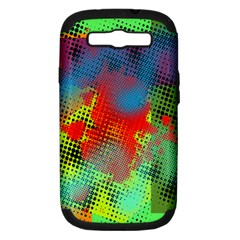 Tiling Lines 5 Samsung Galaxy S III Hardshell Case (PC+Silicone)