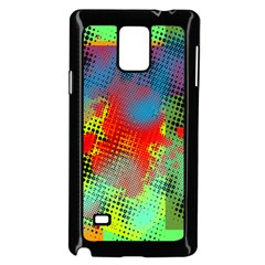 Tiling Lines 5 Samsung Galaxy Note 4 Case (Black)